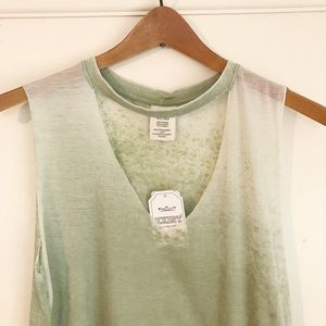 NWT Exist Burnout Choker Muscle Tee